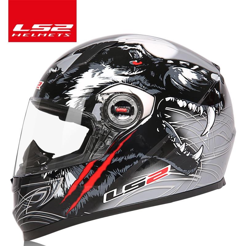 Ls2 ff358 rosto cheio moto rcycle capacete de corrida cruz ece certificação homem mulher casco moto corrida capacetes