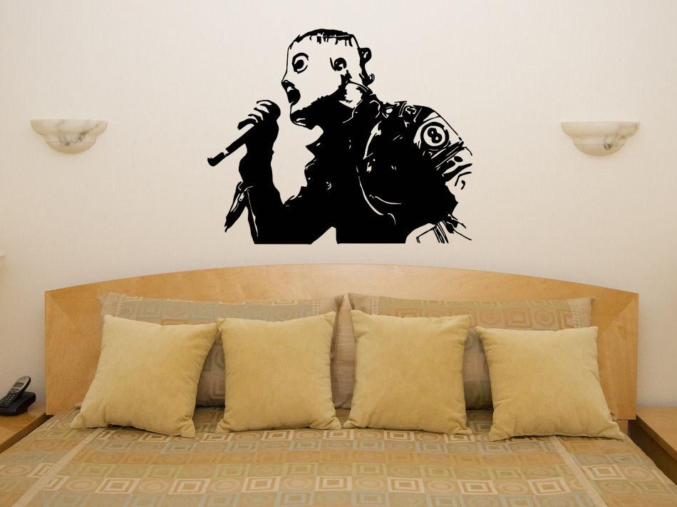 Corey Taylor Slipknot Singer Artist Music Group Wall Art Sticker Poster Bar Home Bedroom Art Design Decoration 2YY34