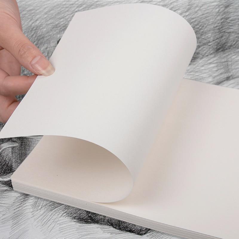 50pcs/lot 16K Lead Paper Sketch Paper Sketchbook Art Drawing Watercolor Paper Gouache Drawing Paper