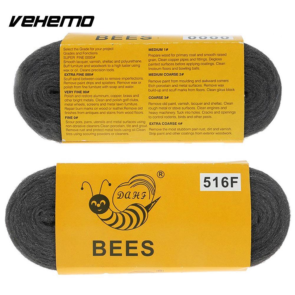 Superfície fina de lã de fio de aço que remove a almofada de decoração de encanamento de polimento