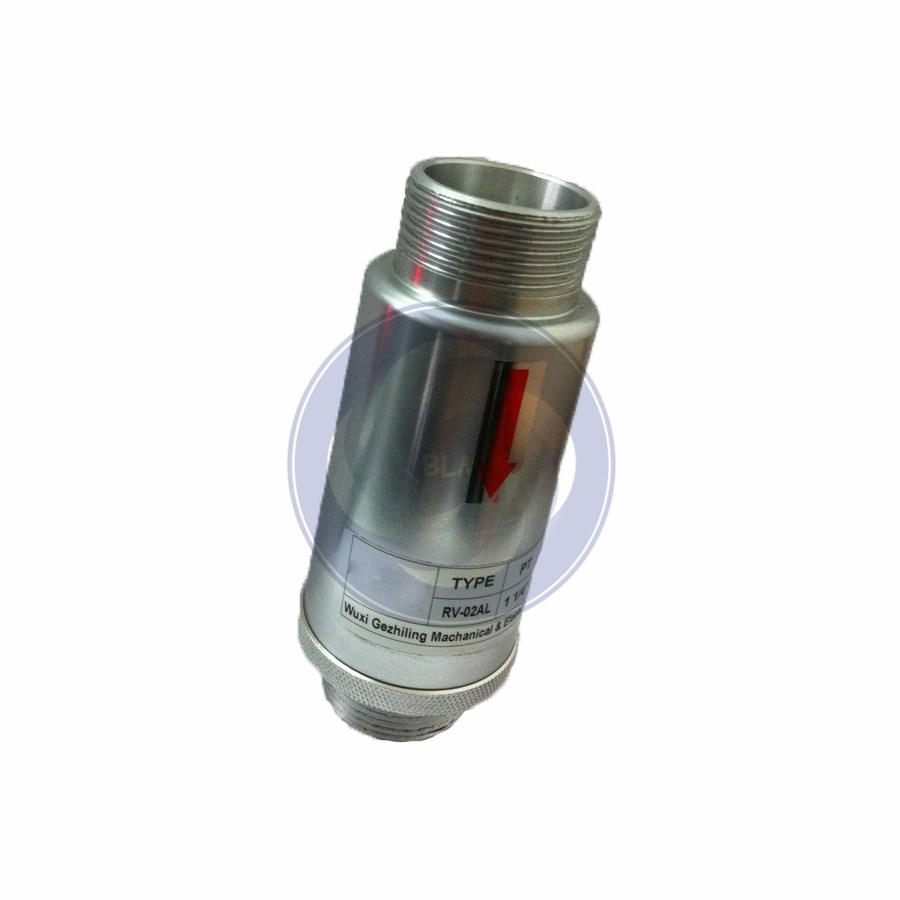 RV-01/RV-02  aluminium alloy material relief valve  for high prssure air ring blower/side channel vacuum pump/compressor/CNC