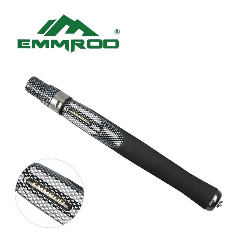 EMMROD Mini Portable Pocket 55CM stainless steel Sea Fishing Rod ultra short Ice Raft Fishing Free Shipping enlarge