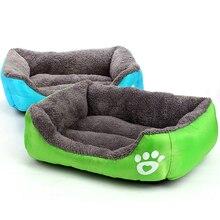 Venxuis doux multicolore lit pour chien dhiver chaud PP coton chiot chien lit canapé imperméable pour chien tapis livraison directe cama perro