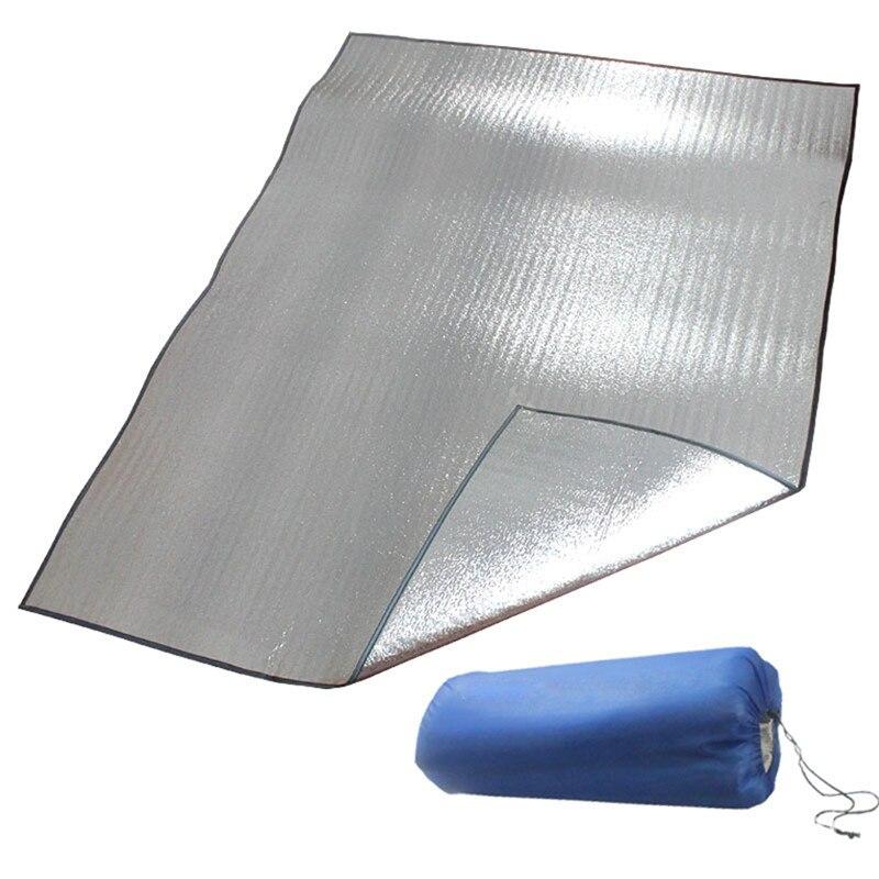 Colchoneta plegable para dormir 200*100/150/200, alfombrilla impermeable de aluminio EVA para acampar al aire libre SA456 T20
