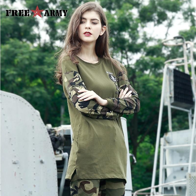 FREE ARMY Women Hood Long Hoodies Shirt O-neck Long Sleeve Cozy Spliced Shirts Basic Brief European Casual Tops Female GS-8810A