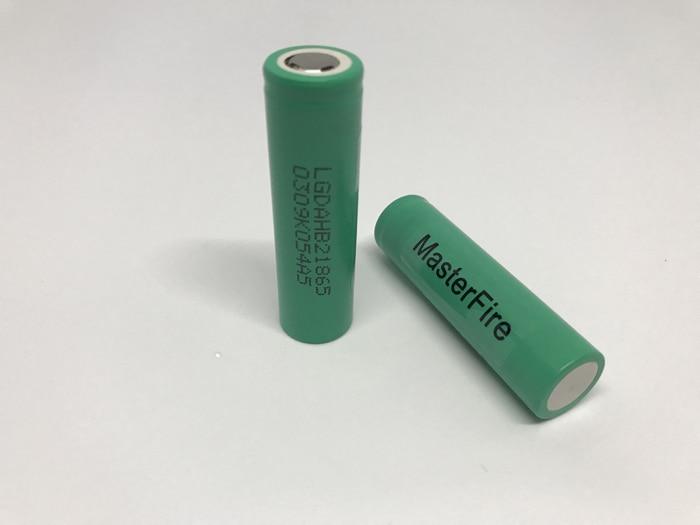 Venta al por mayor 100 unids/lote MasterFire LG Original ICR18650HB2 1500mah 18650 HB2 baterías de iones de litio recargables 30A descarga para cigarrillos electrónicos