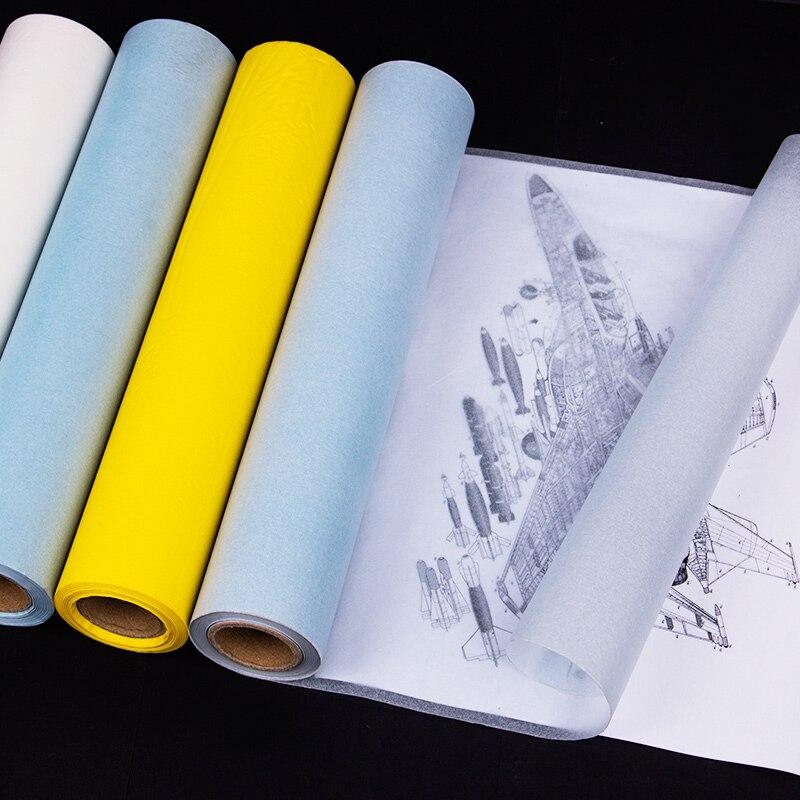Бумага А4, 12 дюймов * 50 лет, трансферная бумага, прозрачная серная кислота, бумага для рисования, архитектурный дизайн, бумага для рисования