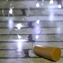 10pcs/lot  2m button battery light LED bottle lantern bar decoration Christmas light festive atmosphere small lantern