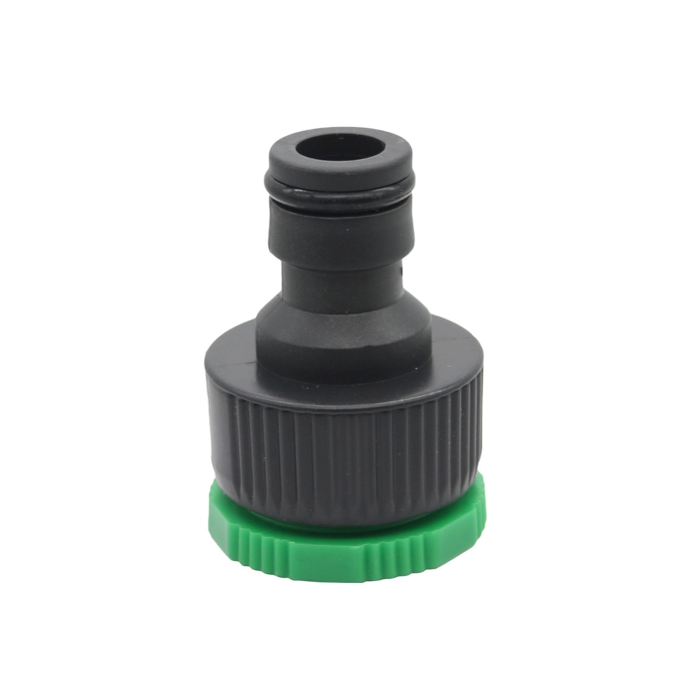 Grifo conector rápido estándar grifo de lavadora común Homebrew riego por goteo de agricultura manguera conector 5 uds