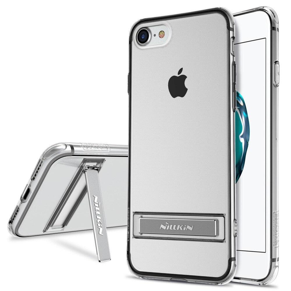 NILLKIN für iphone 7 schutzhülle handytasche fall ständer Halter für iphone7 Schutz TPU rückseitige abdeckung für iphone7 plus
