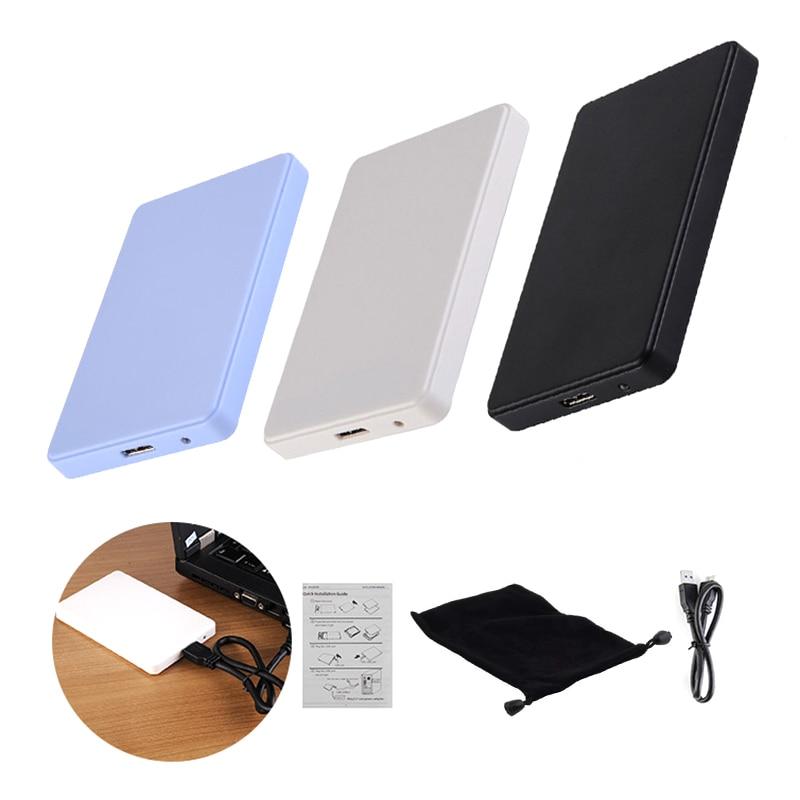3 цвета 2,5 дюймов ноутбук SATA HDD корпус для Sata USB 3,0 SSD HD жесткий диск Внешний корпус с USB 3,0 кабелем