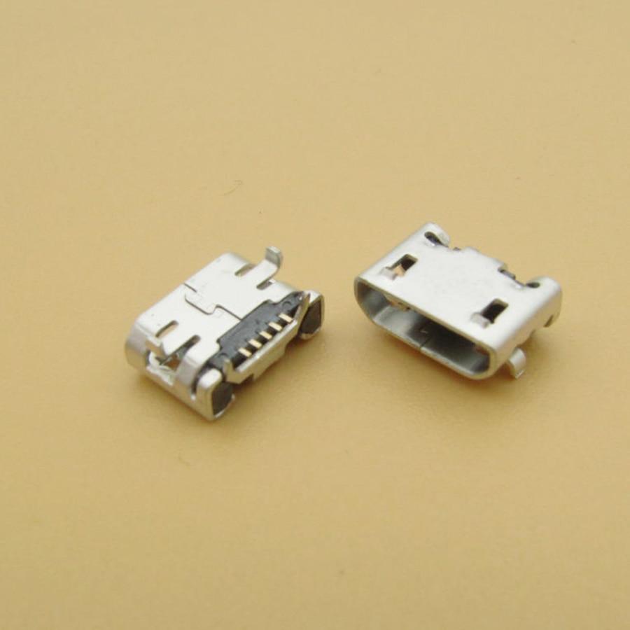 500 piezas para Alcatel One Touch POP C9 Dual OT 7047 7047D Y11 K11 X1 X3 micro usb carga conector de carga puerto de enchufe