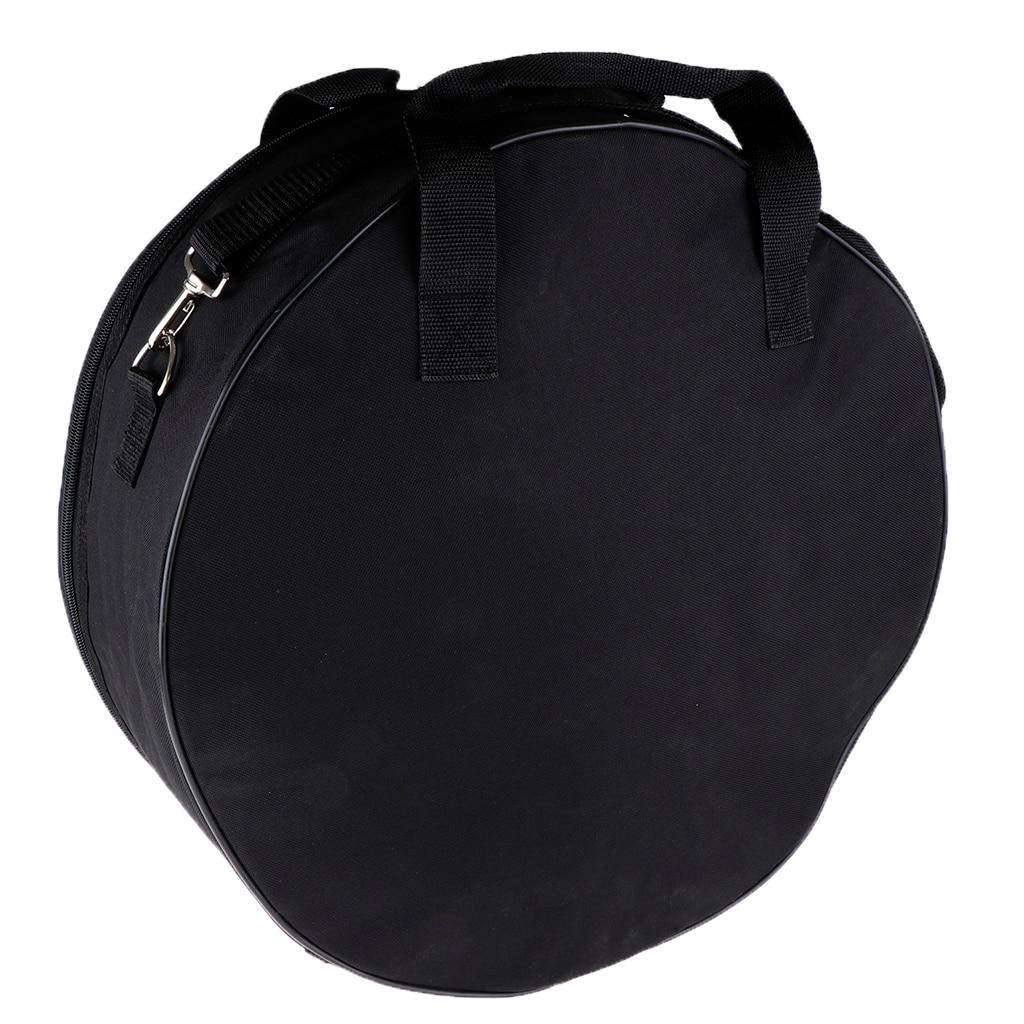 Bolso de tambor de percusión Snare con correa de hombro cantante y mango para tambor de 14 pulgadas