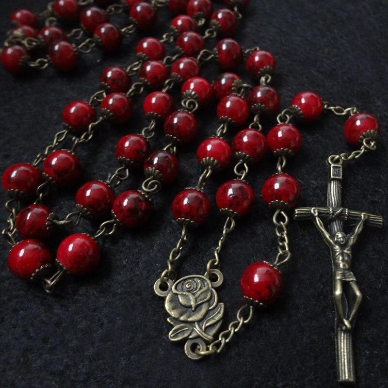 Men Women Christian Cross Pendant Necklace Jewelry