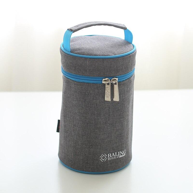 Nueva moda, bolsa térmica Oxford para almuerzo de paño, bolsa para botella, bolsa térmica más fresca para alimentos con aislamiento para picnic, informal, de buena calidad
