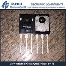 Envío gratis 10 Uds SPW17N80C3 SPP17N80C3 SPA17N80C3 17N80C3 17N80-247 17A 800V transistor MOSFET