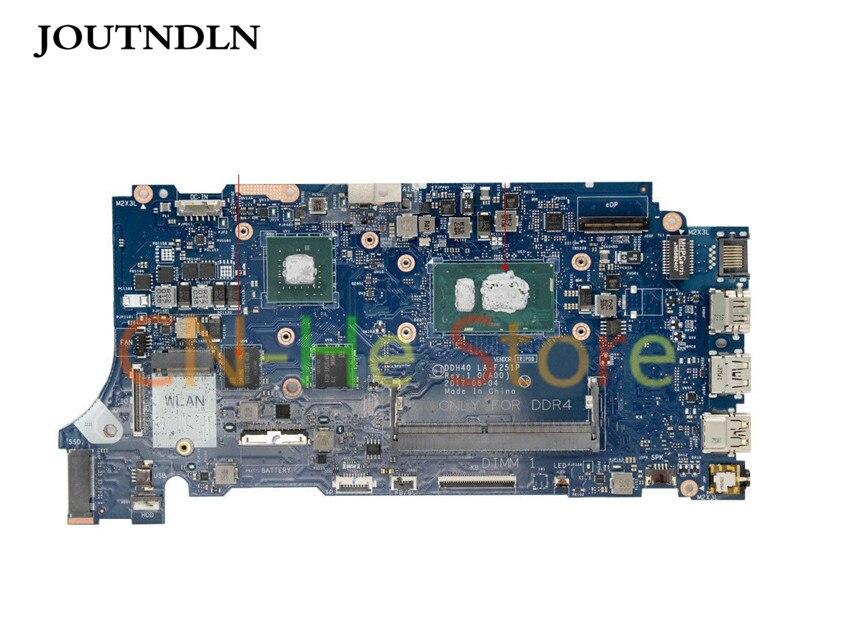 JOUTNDLN PARA Dell 7472 7572 Laptop Motherboard LA-F251P 0WV6GW CN-0WV6GW DDH40 W/i7-8550U e MX150 GPU