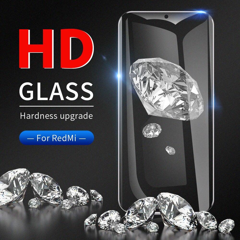 Vidrio templado para Xiaomi Redmi Note7 Pro Xiaomi 8 9 pantalla cristal protector para Xiaomi Redmi Note 5 6 7 película protectora completa