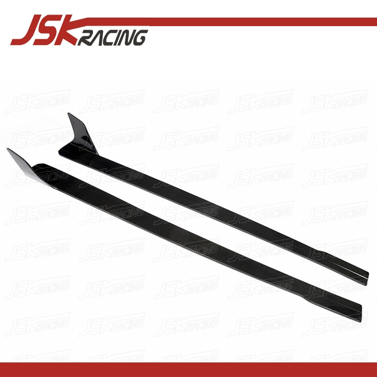 2008-2015 estilo JSK faldas laterales de fibra de carbono para AUDI R8 V8 V10 (JSKADR808048)