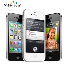 "Original Apple iPhone 4S 16GB 3G WIFI GPS 8MP 1080P 3,5 ""IPS 960x640px pantalla táctil desbloqueado teléfono móvil"