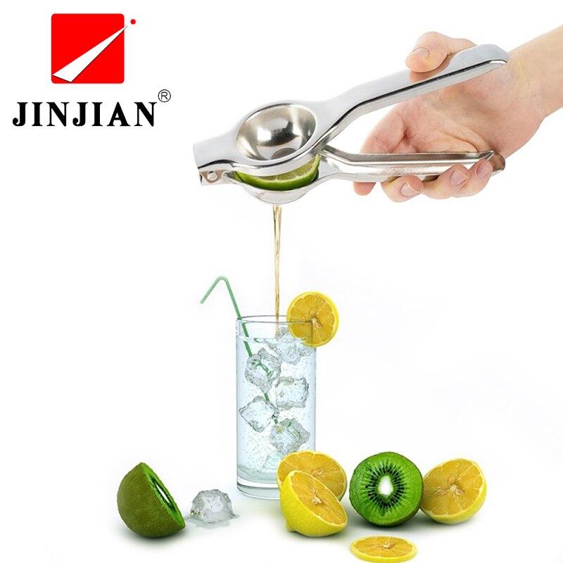 JINJIAN Stainless Steel Press Lemon Lime Orange Juicer Citrus Lemon juicer kitchen bar Food Processor Gadget Cuisine Tools