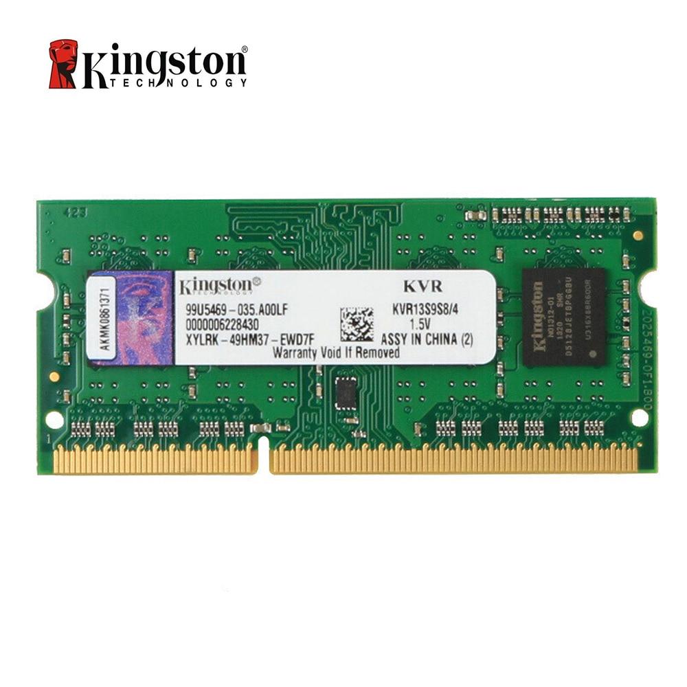 Ноутбук Kingston ValueRAM 4 Гб 1333 МГц PC3-10600 DDR3 без ECC CL9 SODIMM SR X8