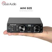 XMOS USB DAC decodificador de Audio DSD1796 HiFi amplificador de auriculares SPDIF control de volumen