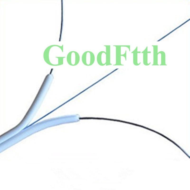 داخلي FTTH شقة كابل إسقاط SM G657A2 1 الأساسية الأبيض LSZH GoodFtth 1-3 كجم