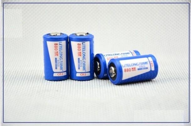 CR2 3V 880mah lithium battery  Rechargeable Battery CR15H270 CR15266 CR - 2 w/C1B Camera, patrolling pen, alarm
