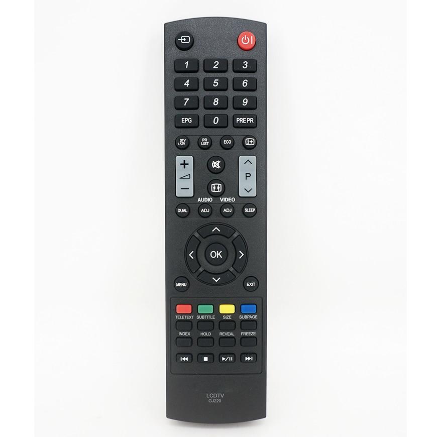 Новый оригинальный контроллер для Sharp LED LCD TV, аудио-видео пульт дистанционного управления GJ220 для LC-50LD264E, LC-50LD265E, Fernbedienung