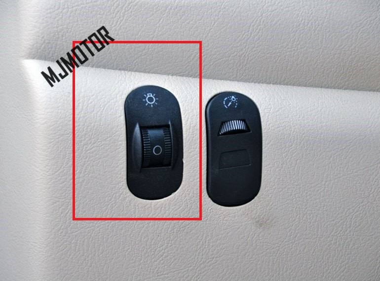 Botón de interruptor de ajuste de faro para Chery chino QQ/QQ3 recambios de motor de coche S11-3772051
