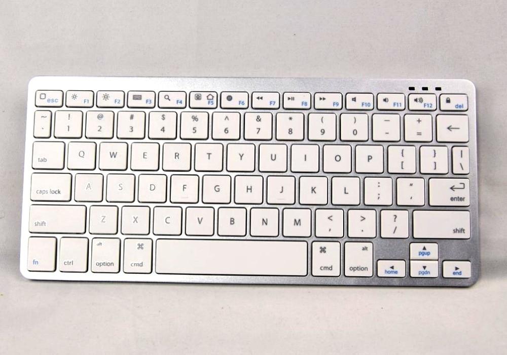 2 IN1 بلوتوث اللاسلكية الأبيض لوحة مفاتيح سامسونج جالاكسي تاب 2 الحاشية 10.1 n8000 باد ماك بوك الروبوت اللوحي