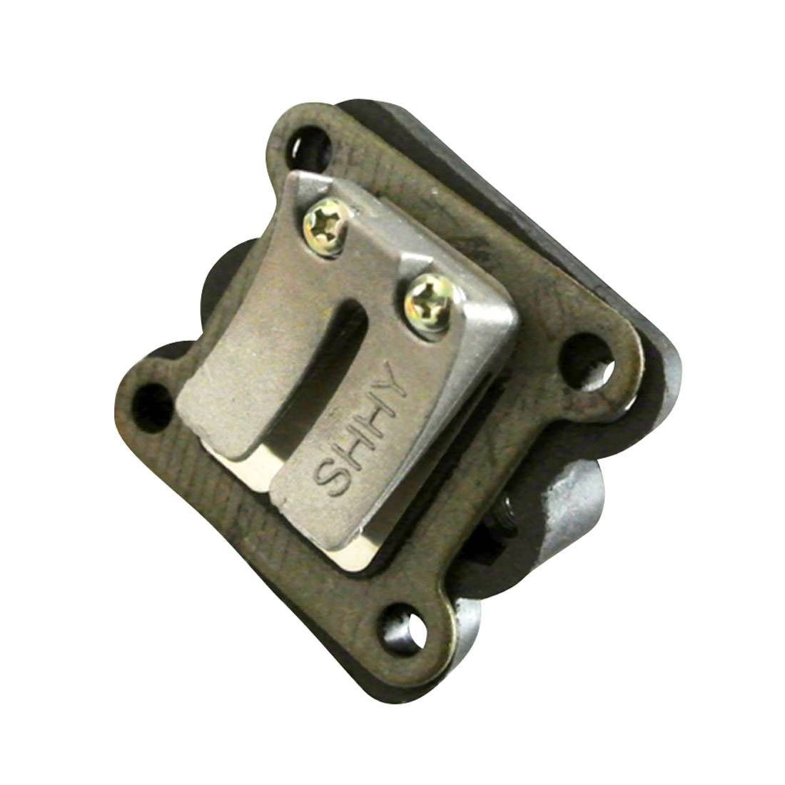 Válvula de lengüeta del colector de entrada para bicicletas ATV Dirt Pocket Mini Moto