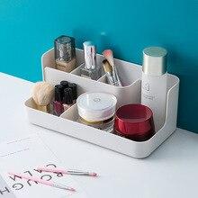 Maquillage organisateur salle de bain boîte de rangement cosmétique organisateur bureau maquillage bijoux boîte de rangement articles divers conteneur