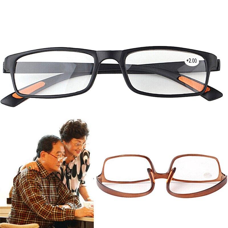1pcs Unisex Resin Framed Reading Glasses +1.00 1.50 2.00 2.50 3.00 3.50 4.00 Diopter