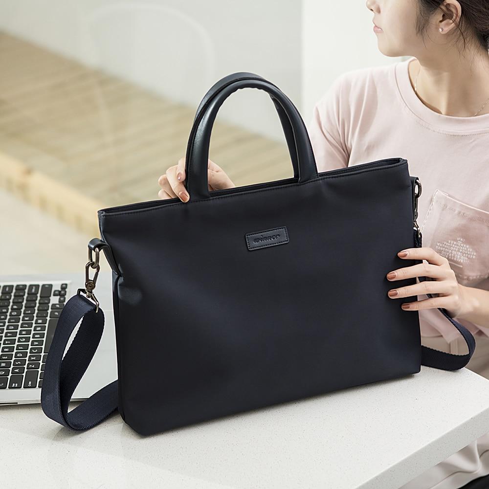Bolsa portátil para portátil de 15,6 pulgadas, bolso de negocios para Notebook, funda para Macbook Air Pro 11 12 13 15 Retina bandolera de hombro