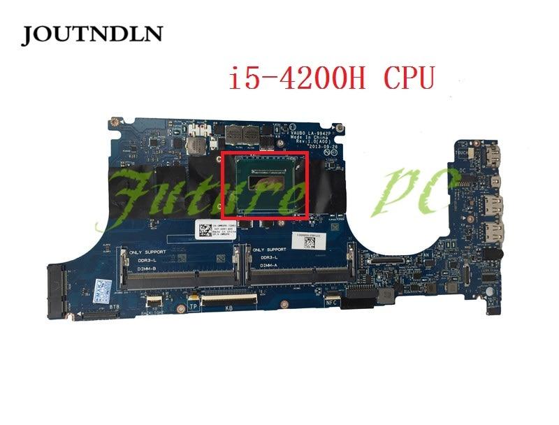 JOUTNDLN para Dell XPS 9530 portátil placa base CN-0WRDFK 0 WRDFK VAUB0 LA-9942P gráficos integrados i5-4200H CPU de trabajo