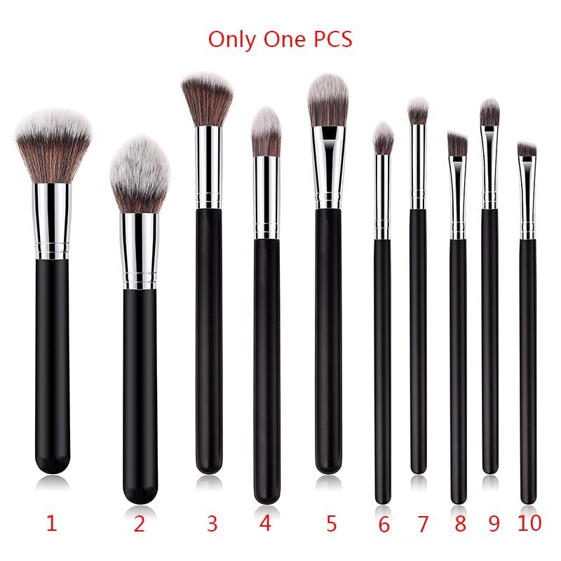 BBL 1 pieza Reals brocha para maquillaje en polvo base Blush corrector sombra de ojos/contorno/licuadora cepillo cosméticos herramienta profesional