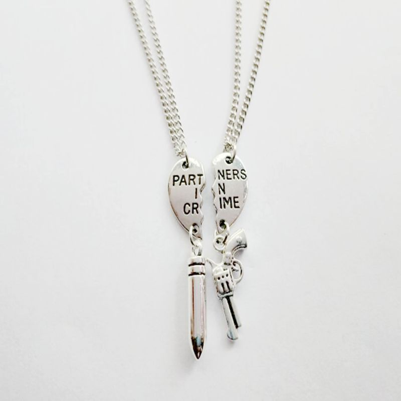 Collar con colgante de mejores amigos de corazón roto, collar para parejas, collar de la Amistad Bff, regalo nuevo