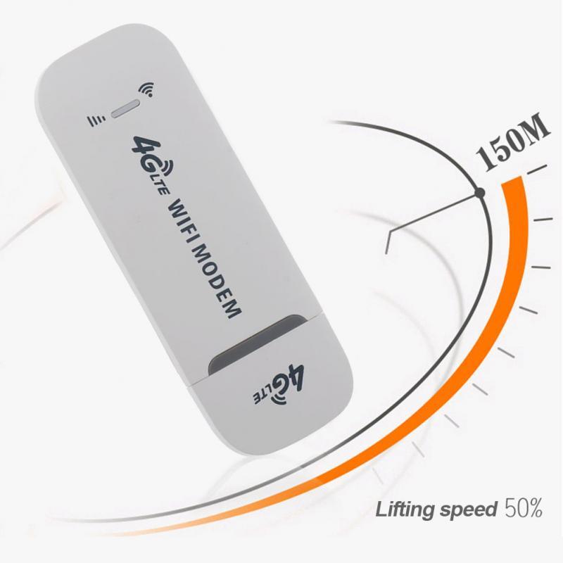 4G LTE módem USB adaptador de red con WiFi tarjeta SIM 4G Router inalámbrico para ganar XP Vista 7/10 10,4 IOS