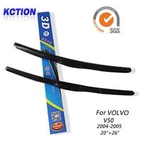 car windshield wiper blade for volvo v50 2004 20052026windscreen wipers blade rubber refill car accessories
