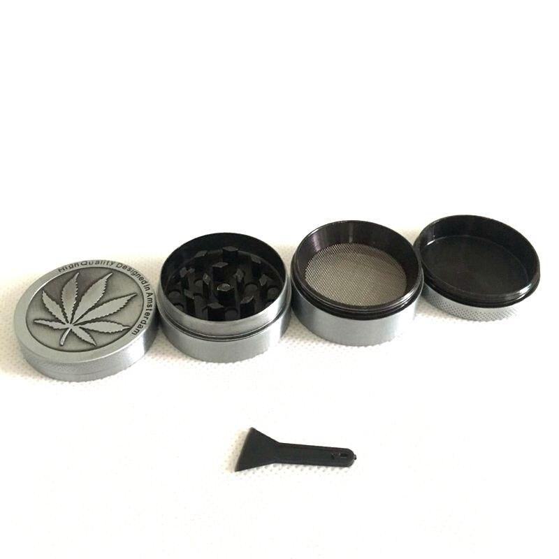 Mini molinillo de hierba de 4 niveles, pipa de tabaco para vidrio hookah shisha, pipa de agua de diámetro 30 40mm