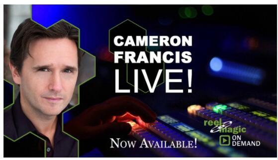 Cameron Francis Reel Magic Magazine Live,Magic Tricks