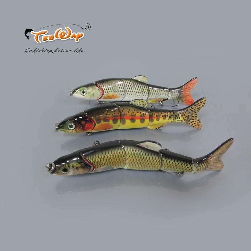 5 unids/lote, señuelo de pesca de 5 segmentos, señuelo duro para pesca lenta, 38g, 16 cm, aparejos de pesca, FL5-QB, pesca con mosca