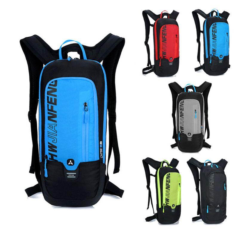 Mochila para ciclismo de 10L para hombre y mujer, mochila para senderismo, Camping, Running, mochila impermeable para bicicleta