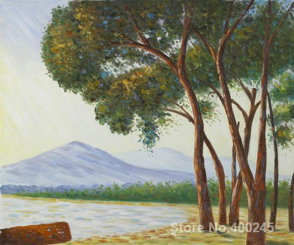 Lona de Arte online Pinturas de Claude Monet La plage de Juan Les Pins pintados à Mão de Alta qualidade