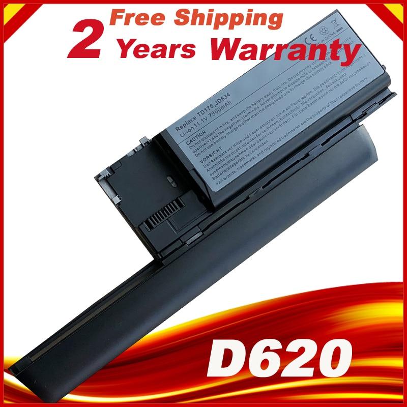 9 celdas 6600mAh batería para Dell Latitude D620 D630 D630c D631 de precisión para M2300 HX345 NT379 PC764 RC126 TD116 UD088