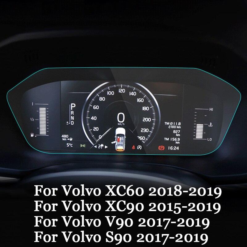 Estilo de coche PET salpicadero pintura película protectora luz transmisión Auto accesorios para Volvo XC60 XC90 S90 V90 2015-2019