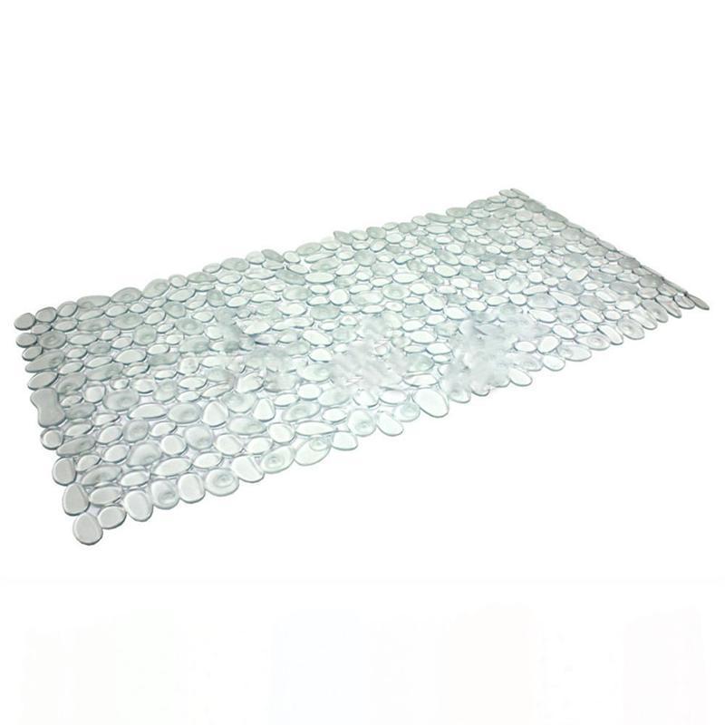 New Stone Pattern Design Large Strong Suction Anti-Slip Bath Mat