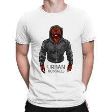 2019 New Short Sleeve Casual Urban Mongrels tshirt - DOG - boxer bulldog jack labrador pug rottweiler spaniel